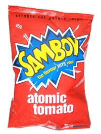 Samboy Atomic Tomato Chips (45g)