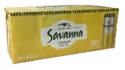 Savanna Cider Dry (10 x 440ml Cans)