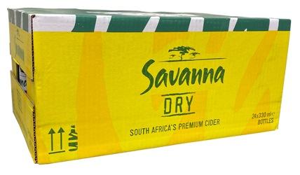 Savanna Cider Dry (24 x 330ml Bottles)