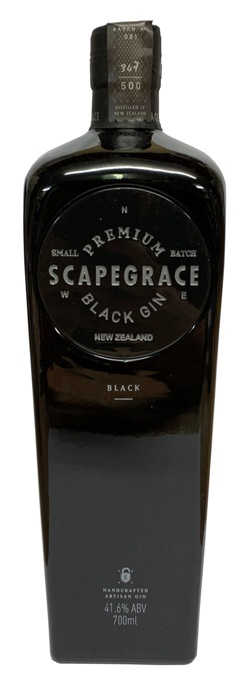 Scapegrace Dry Gin - Black (700ml)
