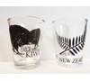 Shot Glasses 2-pack - Kiwi & Fern