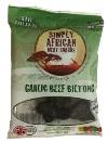 Simply African Meat Snacks Garlic Beef Biltong (35g)