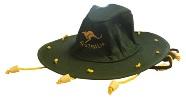 Slouch Hat - Kangaroo Green