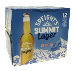 Speights Summit Golden Lager (12 x 330ml bottles)