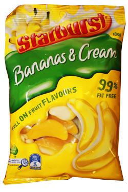 Nestle Ice Cream >> Starburst Bananas Cream | Sweets from Australia