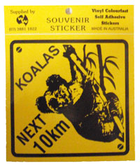 Sticker - Koalas Next 10km