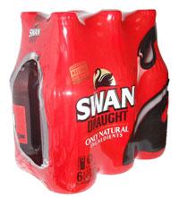 Swan Draught (6 x 375ml bottles)