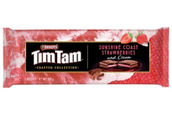 Arnotts Tim Tam Crafted Collection - Sunshine Coast Strawberries & Cream (175g)
