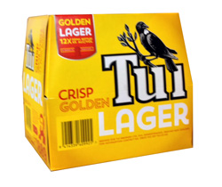 Tui Golden Lager (12 x 330ml bottles)
