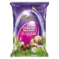 Cadbury Turkish Delight Easter Egg Bag (130g)