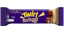 Cadbury Chocolate Twirl - Breakaway (40g)