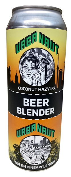 Urbanaut Coconut Hazy IPA / Queen Pineapple Sour Blender (500ml)