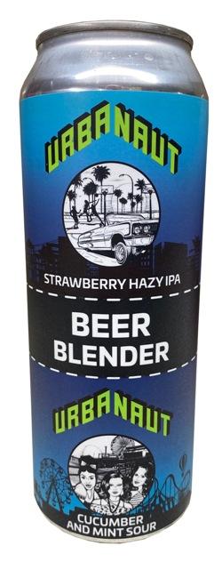 Urbanaut Strawberry Hazy IPA / Cucumber and Mint Sour Blender (500ml)
