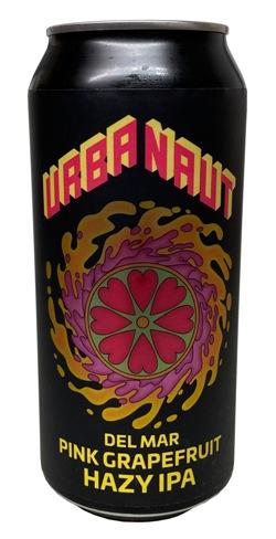 Urbanaut Del Mar Pink Grapefruit Hazy IPA (440ml)