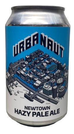 Urbanaut Newtown Hazy Pale Ale (330ml)