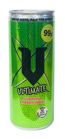 V Ultimate Guarana Energy Drink (250ml)