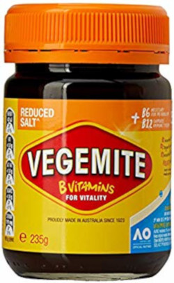 Vegemite Reduced Salt (235g)