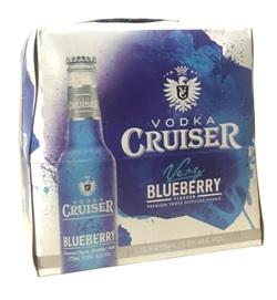 Vodka Cruiser - Blueberry (12 x 275ml bottles)
