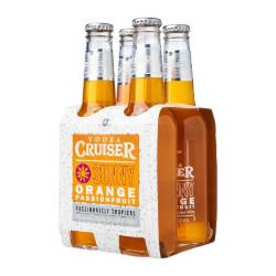 Vodka Cruiser - Orange and Passionfruit (4 x 275ml bottles)