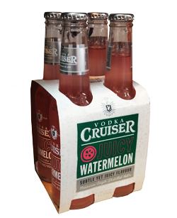 Vodka Cruiser - Watermelon (4 x 275ml bottles)