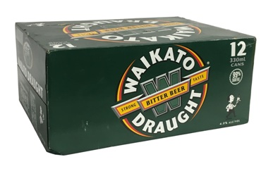 Waikato Draught (12 x 330ml Cans)