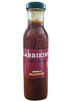 Larrikins BBQ Sauce (250ml)