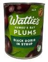 Watties Hawkes Bay Plums - Black Doris in Syrup (850g)