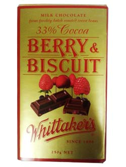 Whittakers Berry Biscuit (250g)