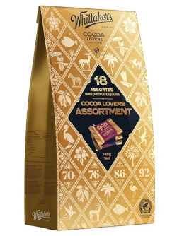 Whittakers Cocoa Lovers Assortment (189g)