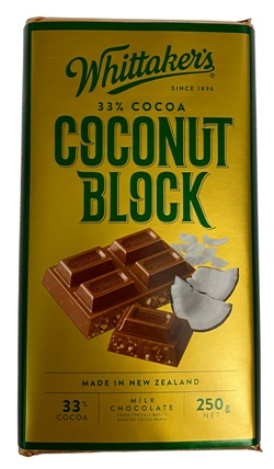 Whittakers Coconut Block (250g)