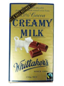 Whittakers Creamy Milk Chocolate Block (250g)