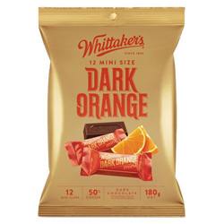 Whittakers Mini Slabs - Dark Orange (180g)
