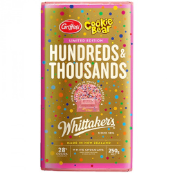 Whittakers Hundreds & Thousands (250g)