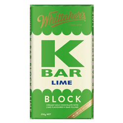 Whittakers Block K Bar Lime (250g)