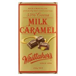 Whittakers Milk Caramel Block (250g)