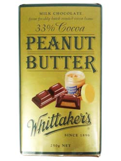 Whittakers Peanut Butter (250g)