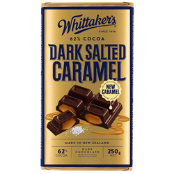 Whittakers Dark Salted Caramel Block (250g)