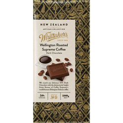 Whittakers Artisan Collection - Wellington Supreme Coffee Dark Choc (100g)