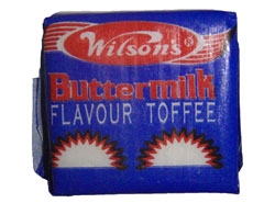 Wilsons Toffees - Buttermilk flavour (10g)