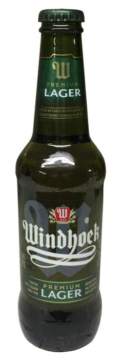 Windhoek Lager (330ml bottle)
