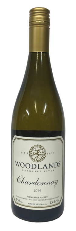 Woodlands Margaret River Chardonnay 2018 (750ml)
