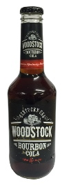 Woodstock Bourbon & Cola (330ml bottle)
