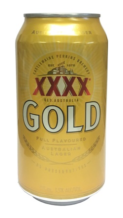 XXXX Gold Lager (18 x 375ml cans)