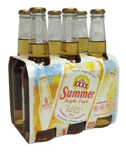 XXXX Summer Bright Lager (6 x 330ml bottles)