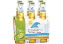 XXXX Summer Bright Lager with Lime (6 x 330ml bottles)